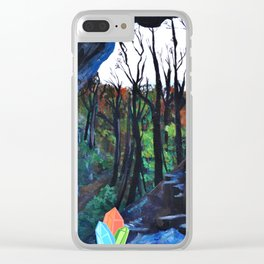 Crystal Cavern Clear iPhone Case