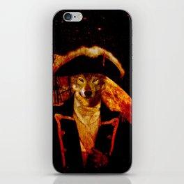 Wolf Capitan iPhone Skin