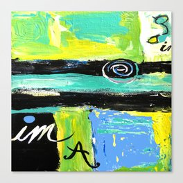 Imagine Abstract Canvas Print