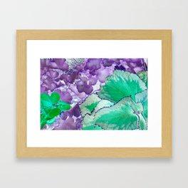 Alien Vegetation Framed Art Print