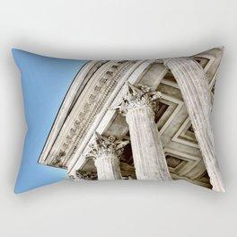 Roman Temple Corinthian Columns Nimes Provence France Rectangular Pillow