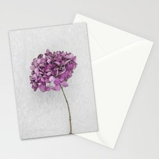 Pink Dried Hydrangea Stationery Cards
