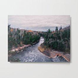 Baptism River Metal Print