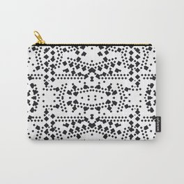 black square elements Carry-All Pouch
