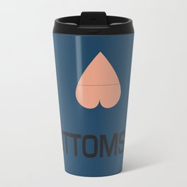 I Heart Bottoms Travel Mug