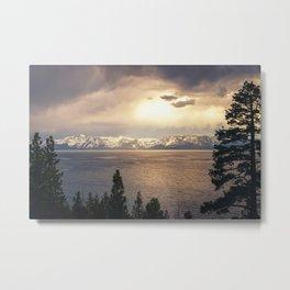 Changing Seasons at Lake Tahoe Metal Print
