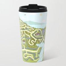 Limestone Village Maze Travel Mug