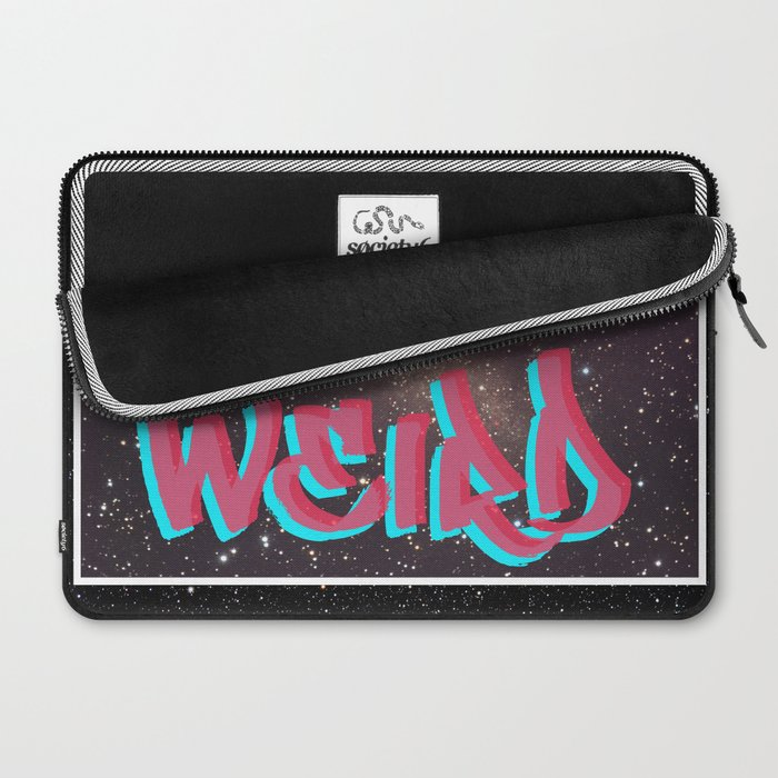 LETS GET WEIRD Laptop Sleeve