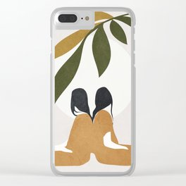 Watching the Sunset Clear iPhone Case