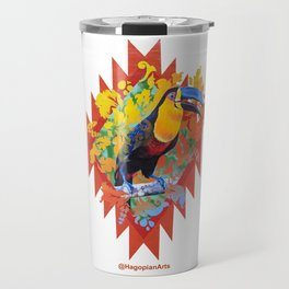 Eco Mural Project 10: Channel-Billed Toucan Travel Mug