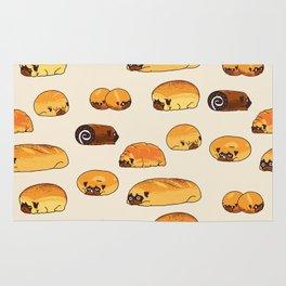 Bread Pugs Rug