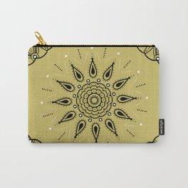 Central Mandala Dijon Carry-All Pouch