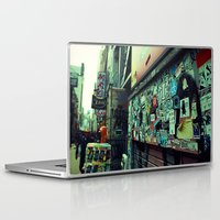 stickers Laptop & iPad Skins featuring Urban Stickers by Martin Sturk
