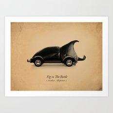 Fig. 34 The Beetle Art Print