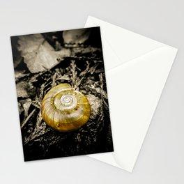 Golden Spiral Stationery Cards