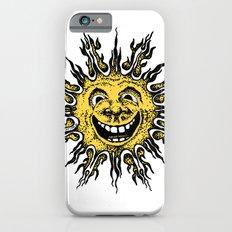 sun face - original yellow Slim Case iPhone 6s