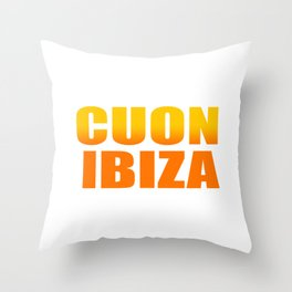 CUON IBIZA Throw Pillow