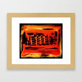 Rising City Framed Art Print