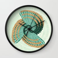 octopus Wall Clocks featuring Octopus  by DebS Digs Photo Art