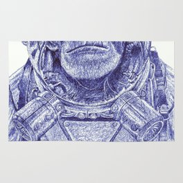 Space Monkey Rug
