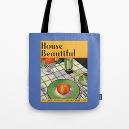 House Beautiful April 1933 Tote Bag