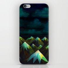 Night Mountains.  iPhone & iPod Skin