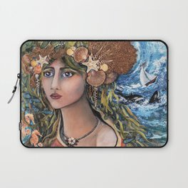 Cordelia~ Jewel of the Sea Laptop Sleeve
