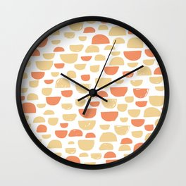 Half Circle 03 Wall Clock