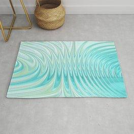 Teal Dreams Collection (6) - Fractal Art  Rug