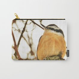 Curious Nuthatch Carry-All Pouch