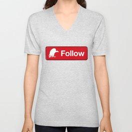 Follow the Buzzards Unisex V-Neck