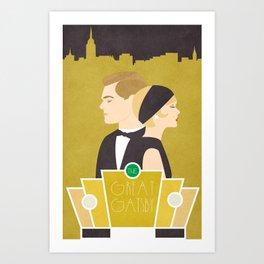 What Gatsby? Art Print