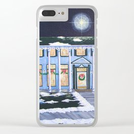 Christmas, Boulder Dam Hotel, Boulder City, Nevada, by Faye Clear iPhone Case