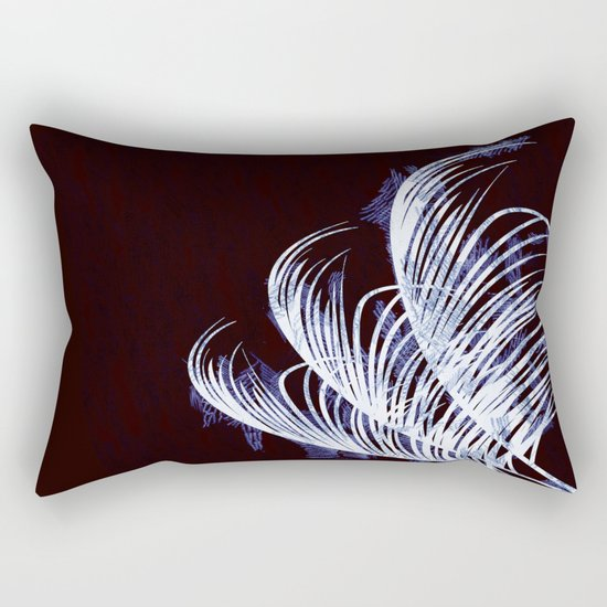 Tropical silhouette Rectangular Pillow