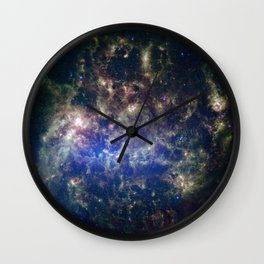Large Magellanic Cloud, infrared 2 Wall Clock