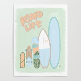 Board Life Poster