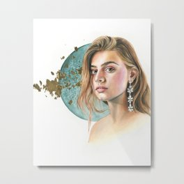 Moon Child Metal Print