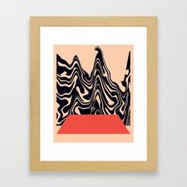 Summer Void Framed Art Print