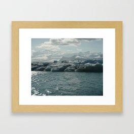 sparkling ice Framed Art Print