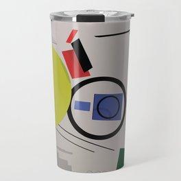 Abstract Composition 232 Travel Mug