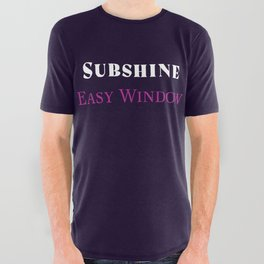 Subshine - Easy Window All Over Graphic Tee