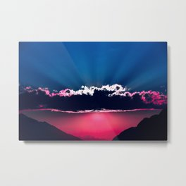 Happy Thoughts Metal Print