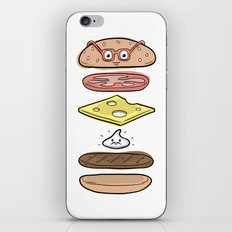 Friends Go Better Together 4/7 - Hamburger and Mayo iPhone & iPod Skin