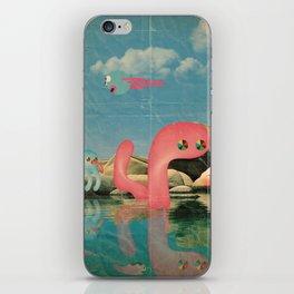 lago animato iPhone Skin