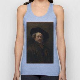 Rembrandt van Rijn - Self-portrait Unisex Tank Top