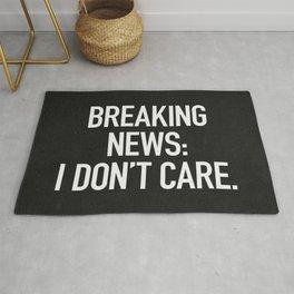 News: I Don't Care Rug
