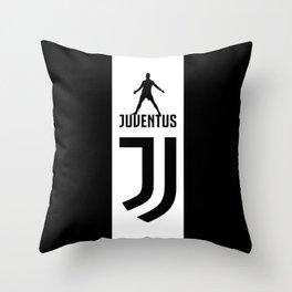 Cristiano Ronaldo Juventus Throw Pillow