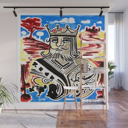 King Of Cards Wall Mural