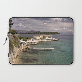 Corfu Seascape Laptop Sleeve