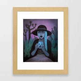 For Crystal Visions Framed Art Print